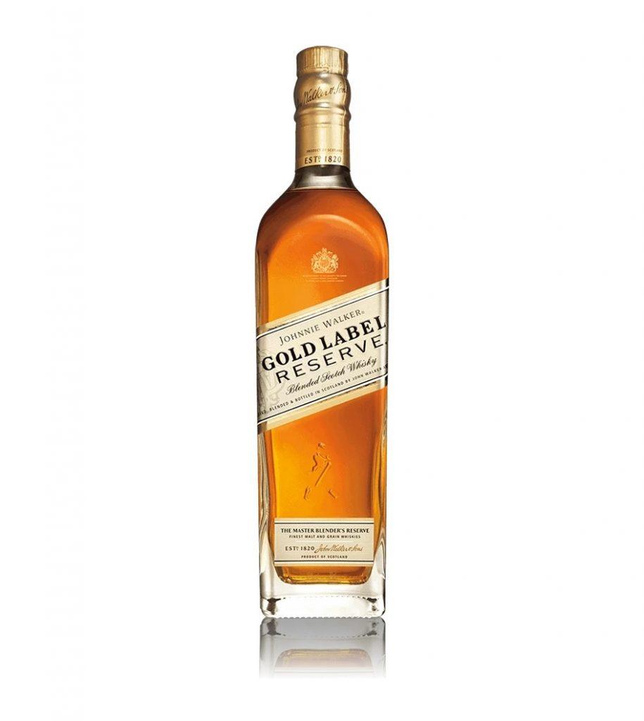 Johnnie walker gold label whisky